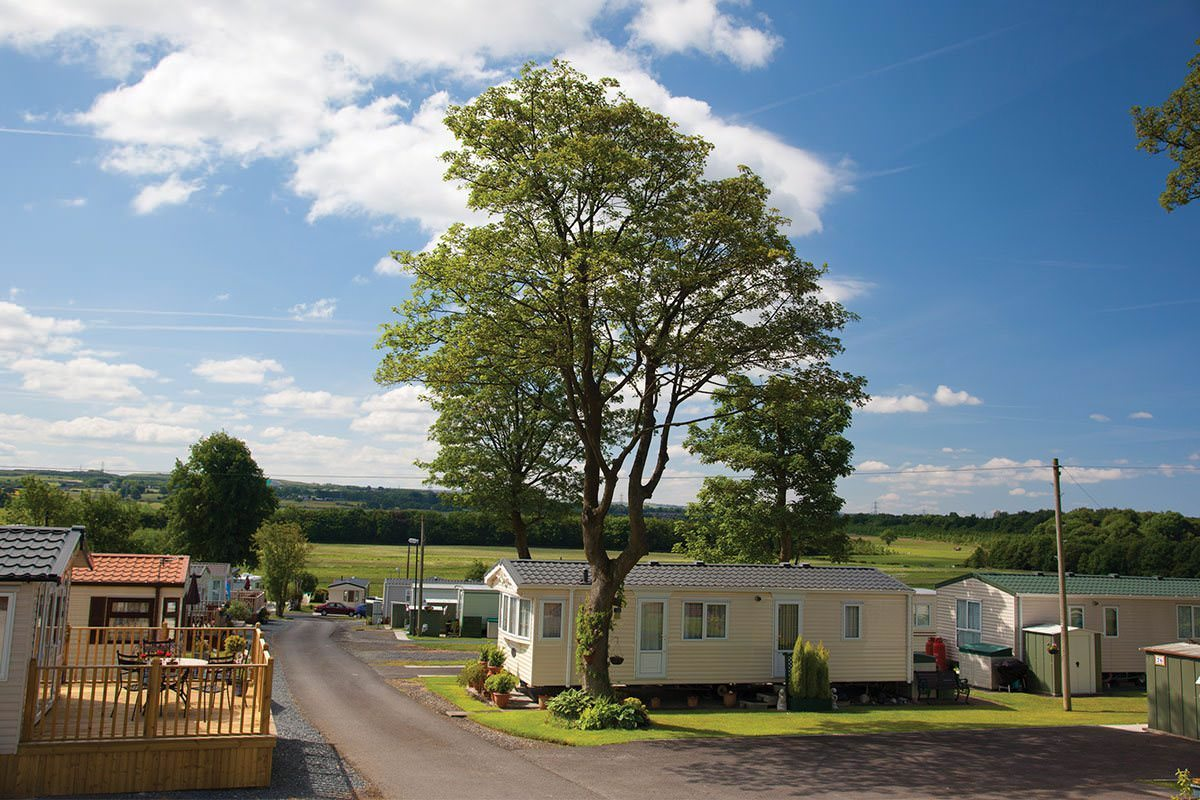 Bridge Heywood Caravan Park Landscape