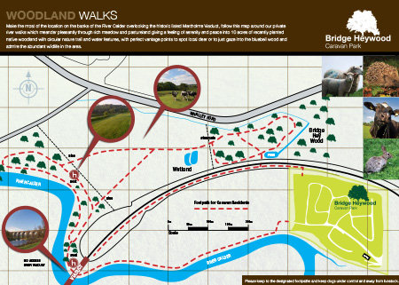 Bridge Heywood Walk Map